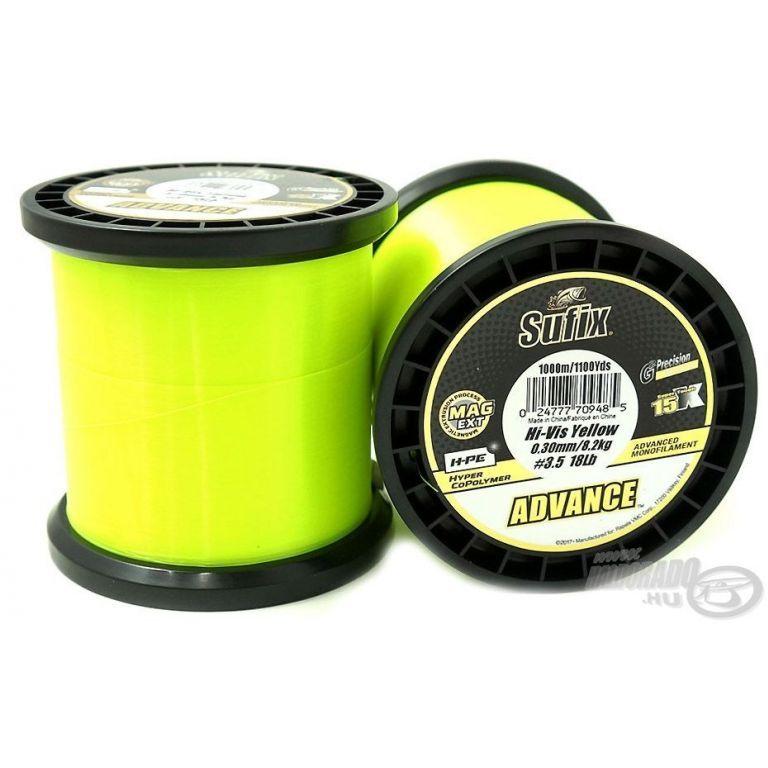 SUFIX Advance Hi Vis Yellow 1000 m 0,28 mm