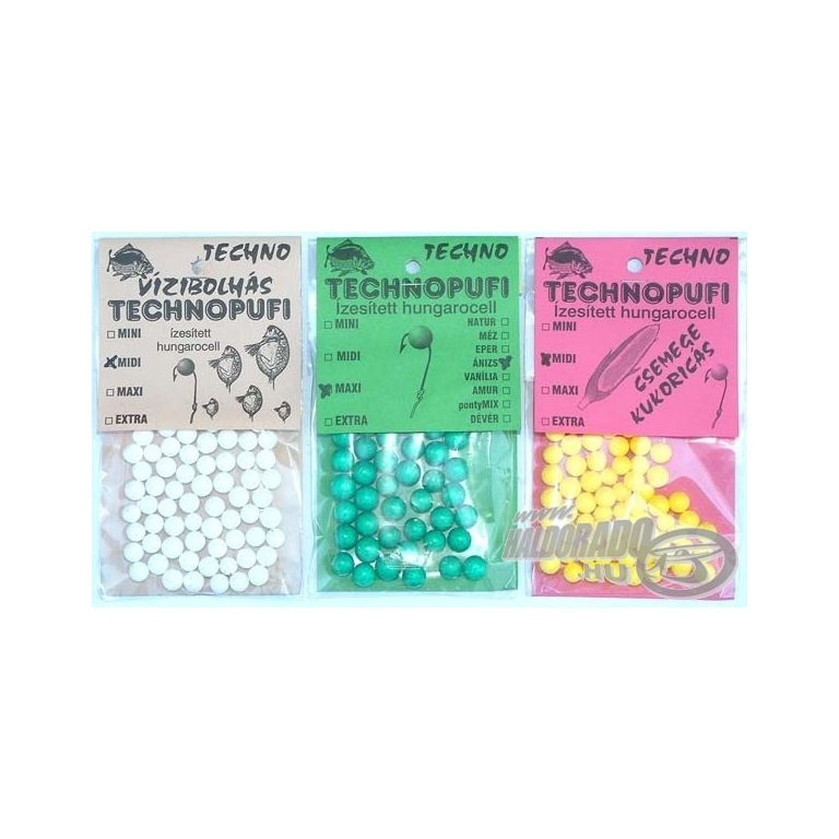 TECHNO Technopufi 3. MAXI Csemegekukorica
