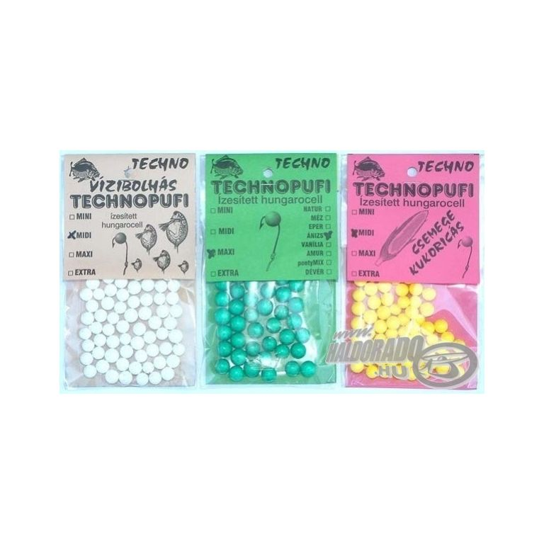 TECHNO Technopufi 4. EXTRA  Méz